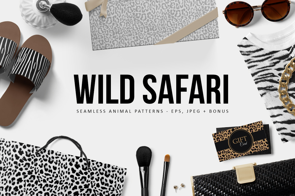 Wild Safari Patterns example image 1