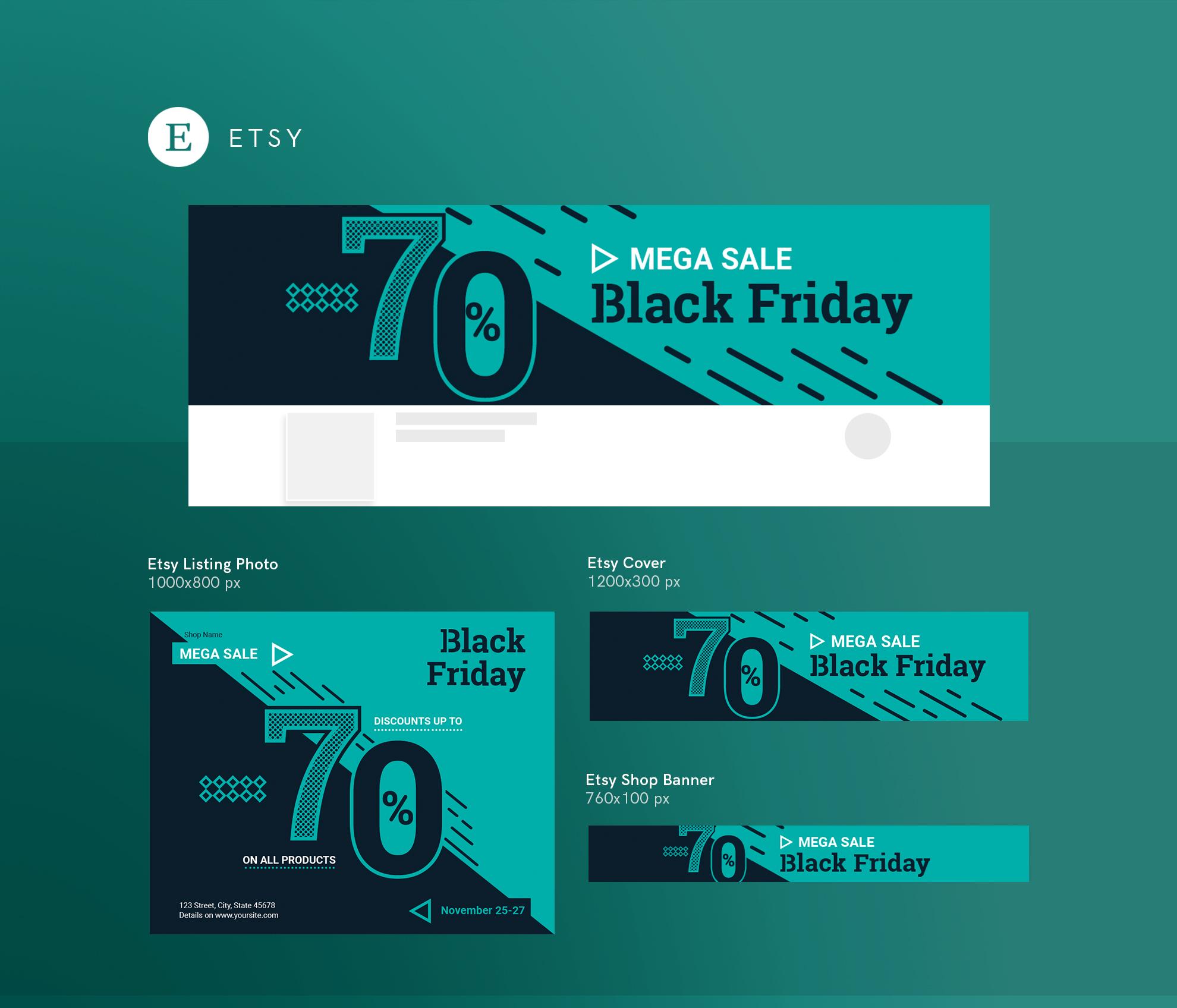 Black Friday Sale Design Templates Bundle example image 14