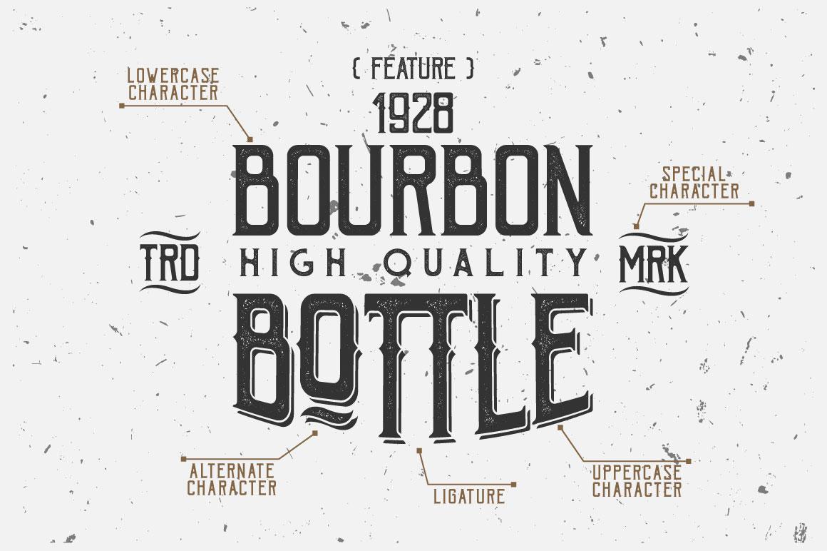 Bohem Typeface - 5 Font Styles example image 4