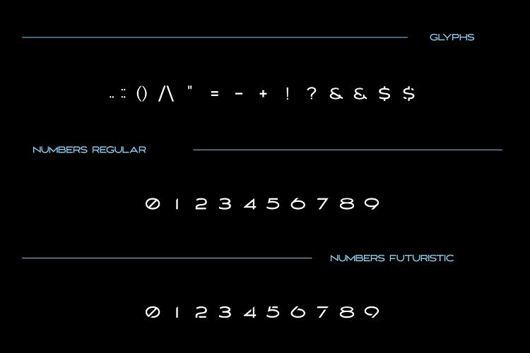 MAVERIX font example image 5