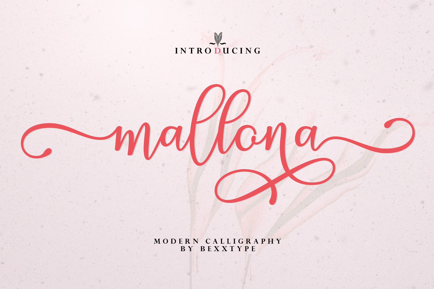 The lovely new Mallona Script! example image 1