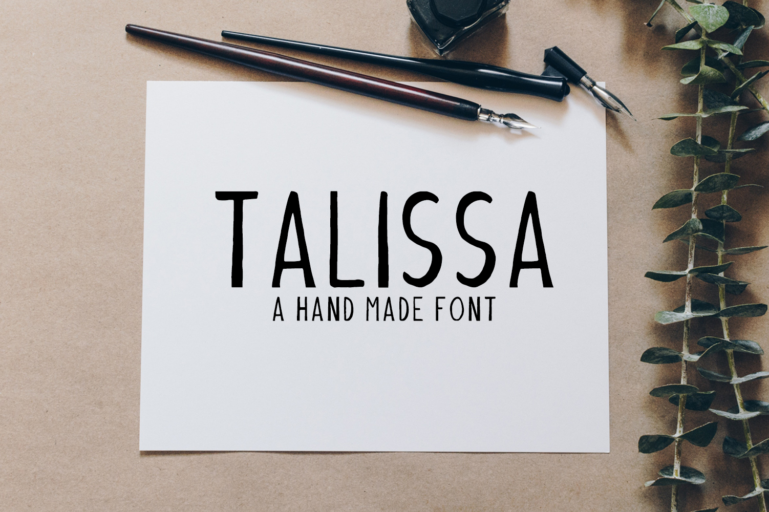Talissa A Handmade Font example image 1