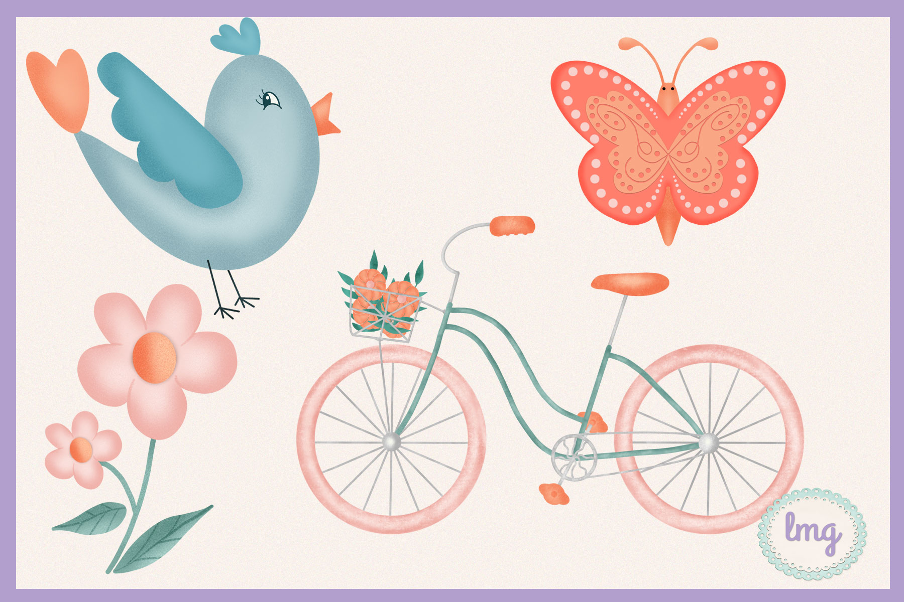 Valentine Love Clipart Sublimation example image 4