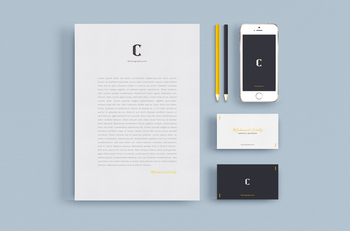 Stationery & Branding Mockups example image 3
