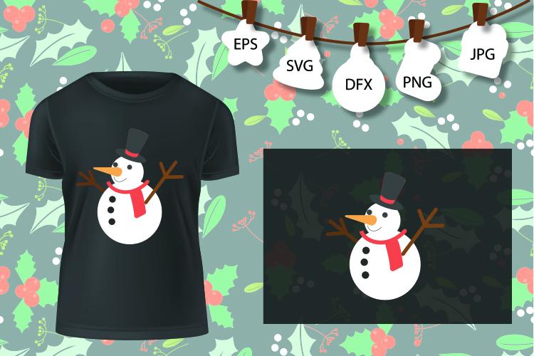 Snowman, Snow Man , svg wonderland. Download example image 1