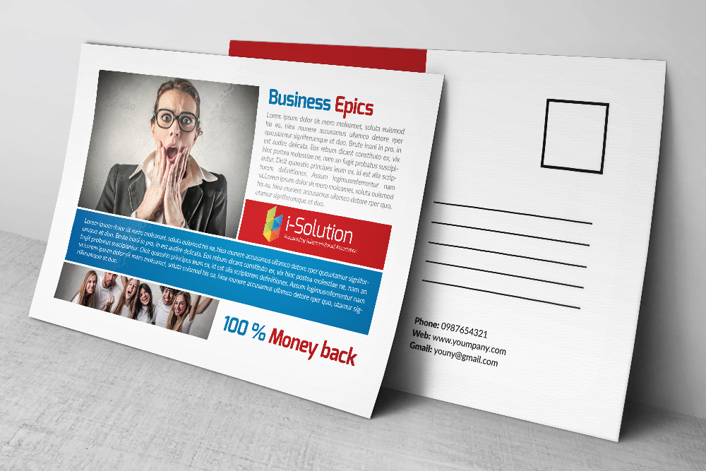 Business Marketing Postcards example image 3