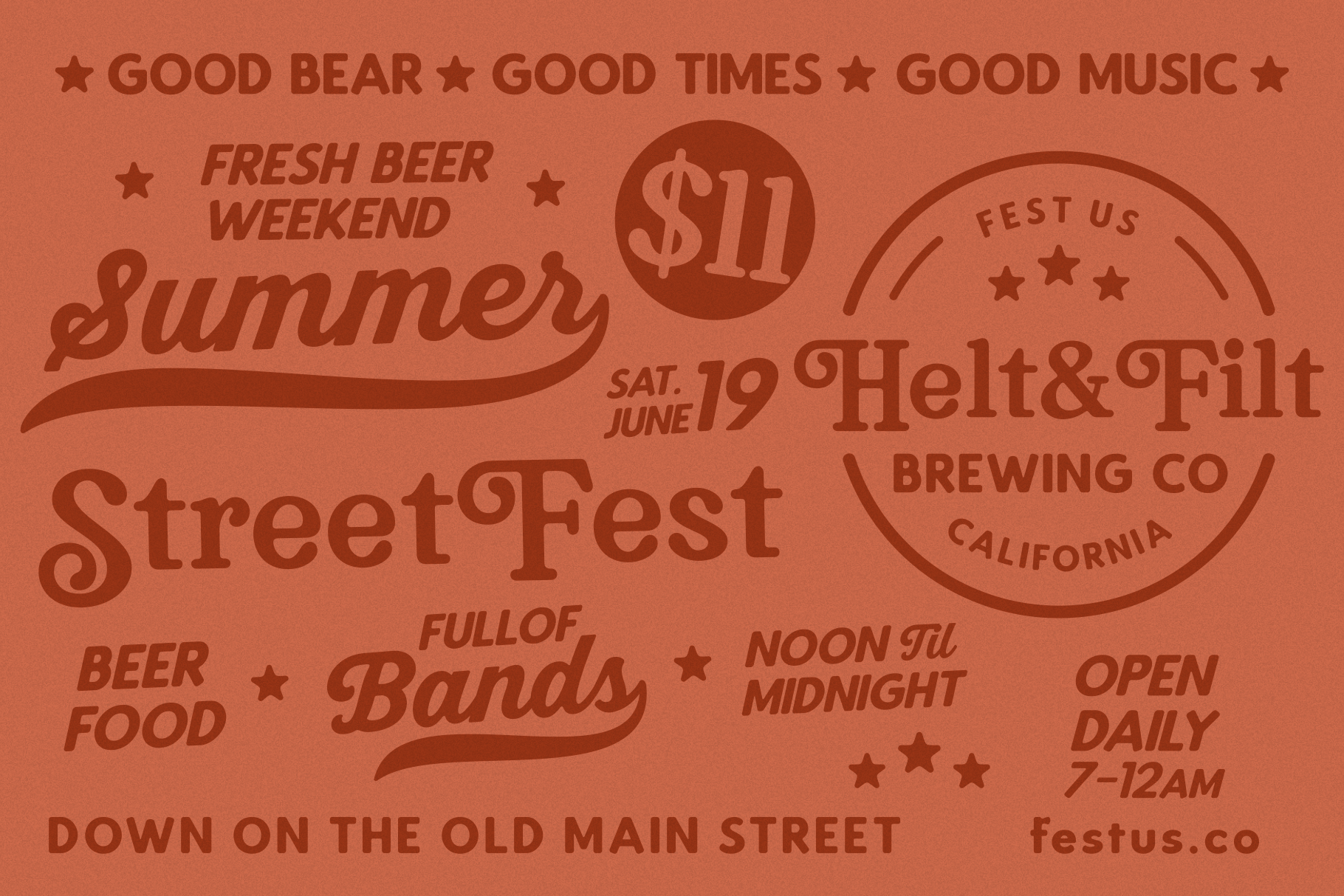 Bookman Font Collection example image 12