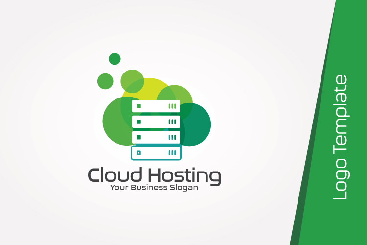 Cloud Hosting Logo Template example image 3