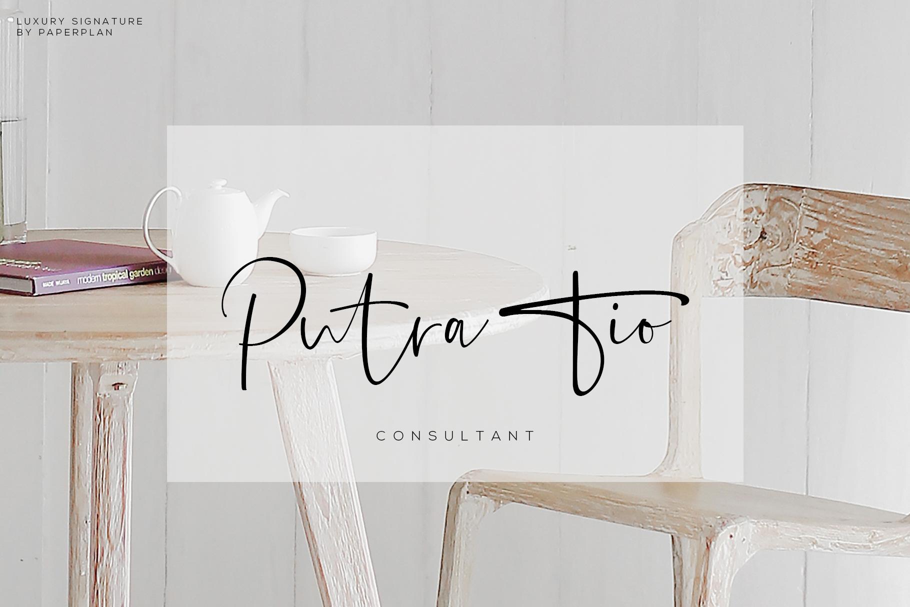 Sontiro - Stylish Signature Font example image 3