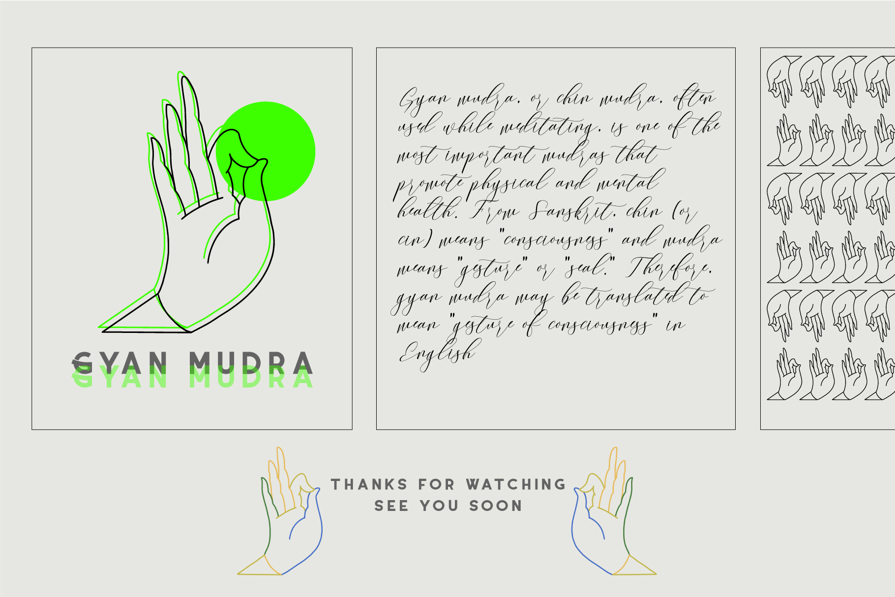 10 Mudras & Logo Pack. SVG/Ai/PNG example image 9