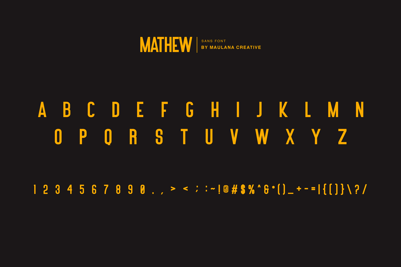 Mathew Rohas Brush Font Duo example image 2