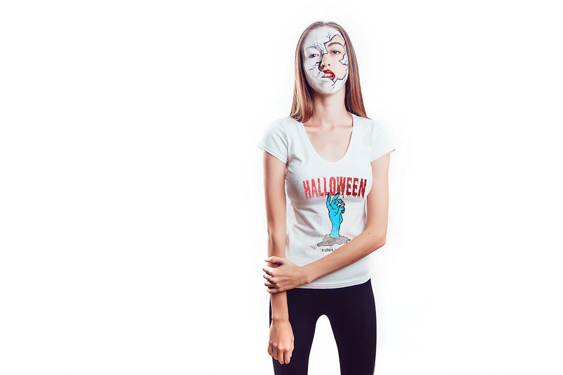 Halloween T-Shirt Mock-Up example image 13