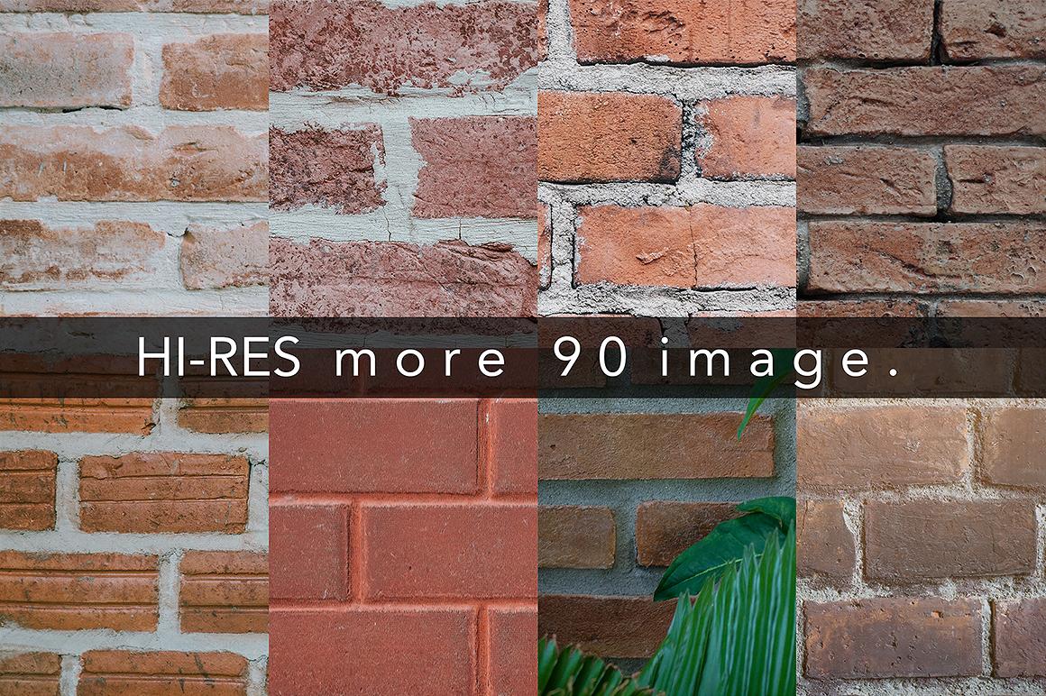90 Brick texture background  example image 2