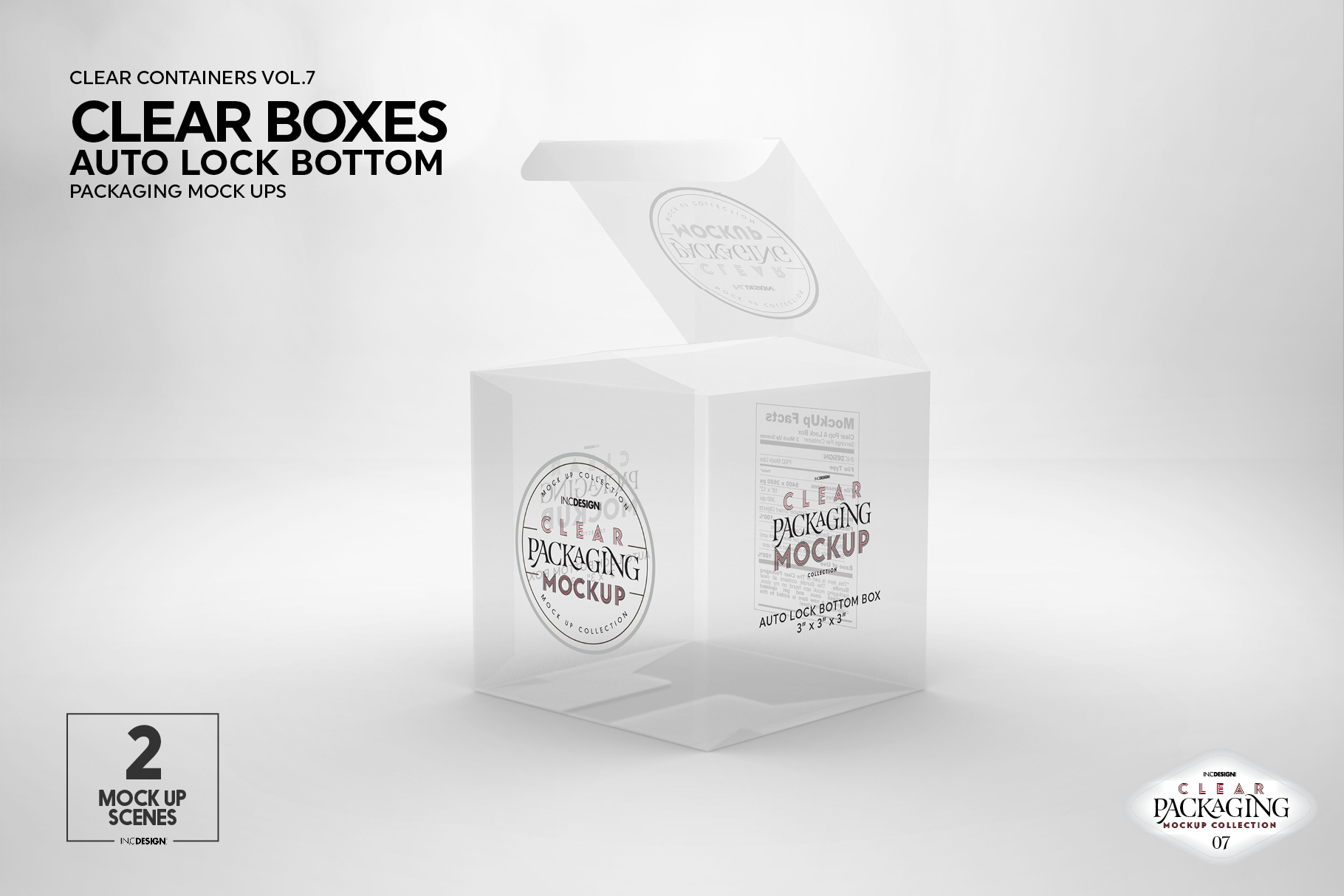 VOL.7 Clear Packaging Mockup Collection example image 26