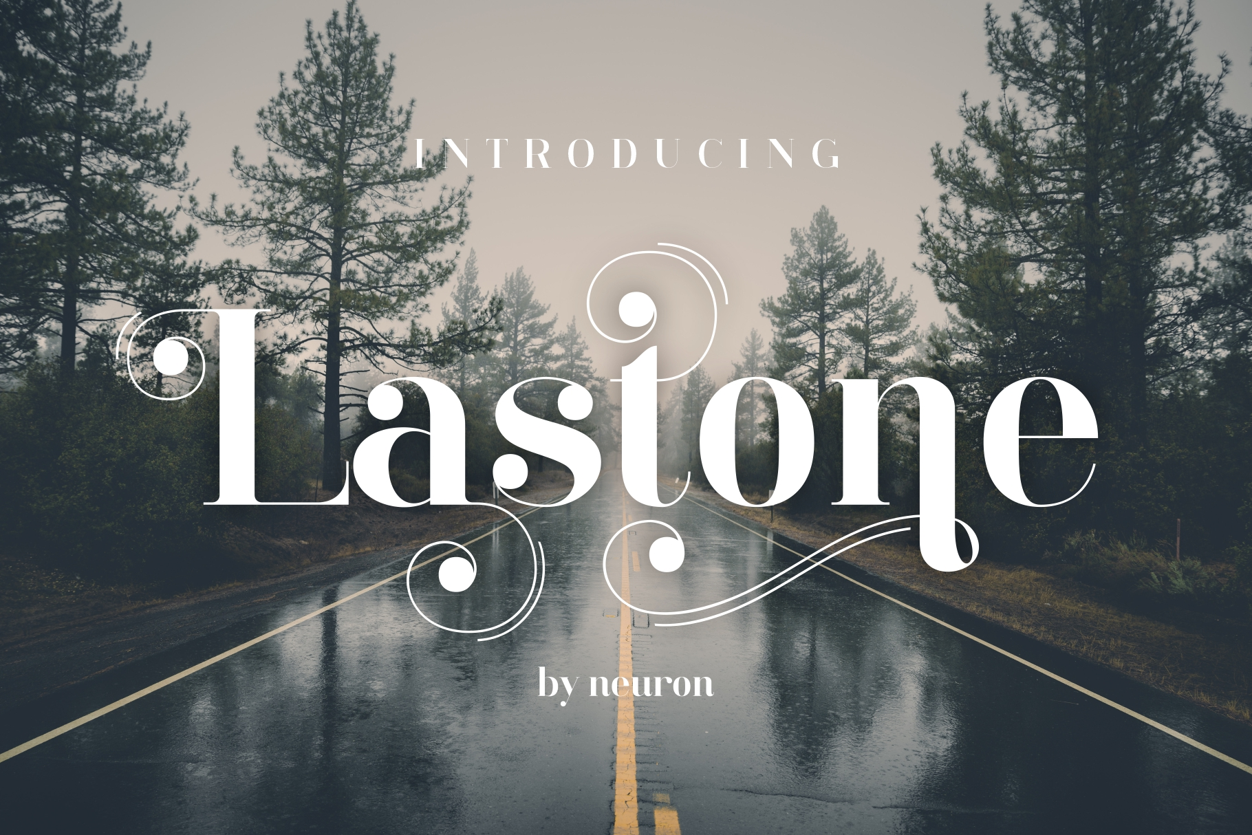 LastOne Display Font example image 3