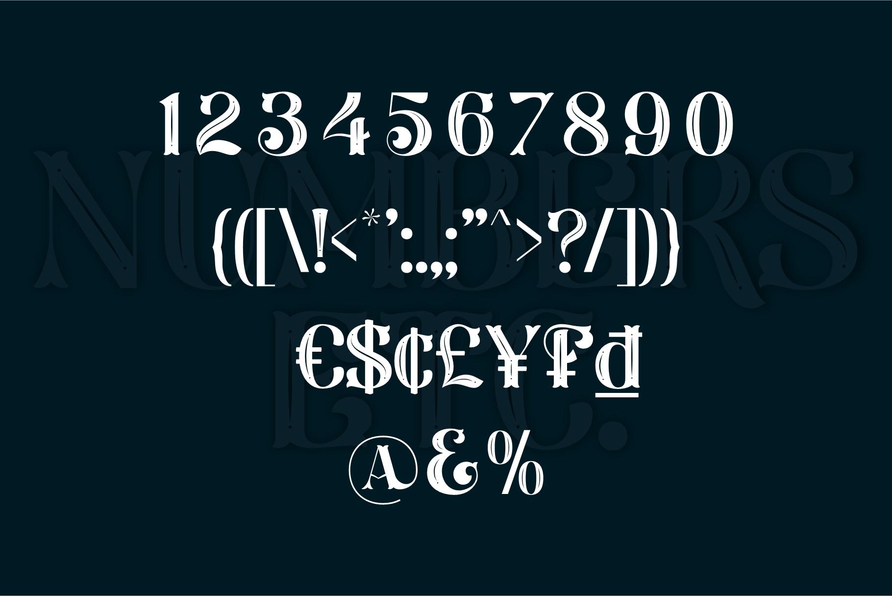 Larson Display Font example image 7