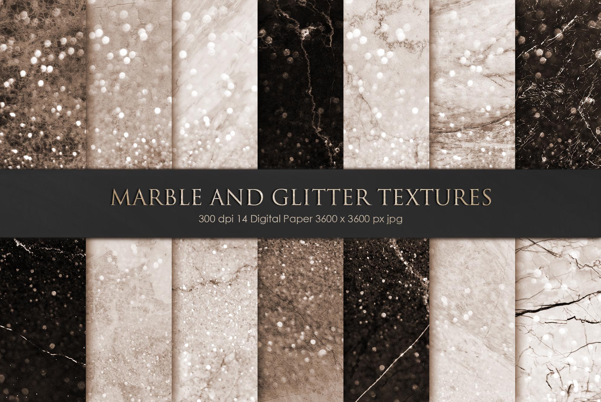 Marble Digital Paper BUNDLE example image 12