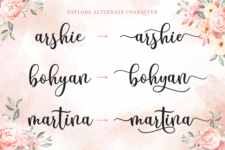 Breyhana Script example image 4