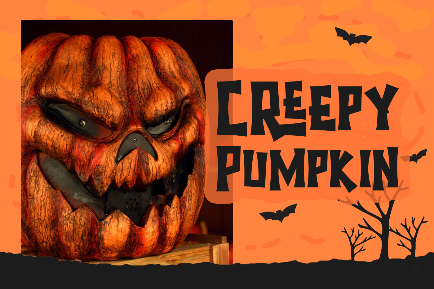 Halloween - Spooky Font example image 3