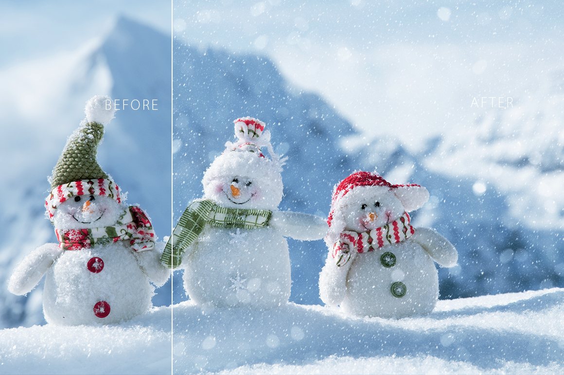 Real Snow Overlays example image 3