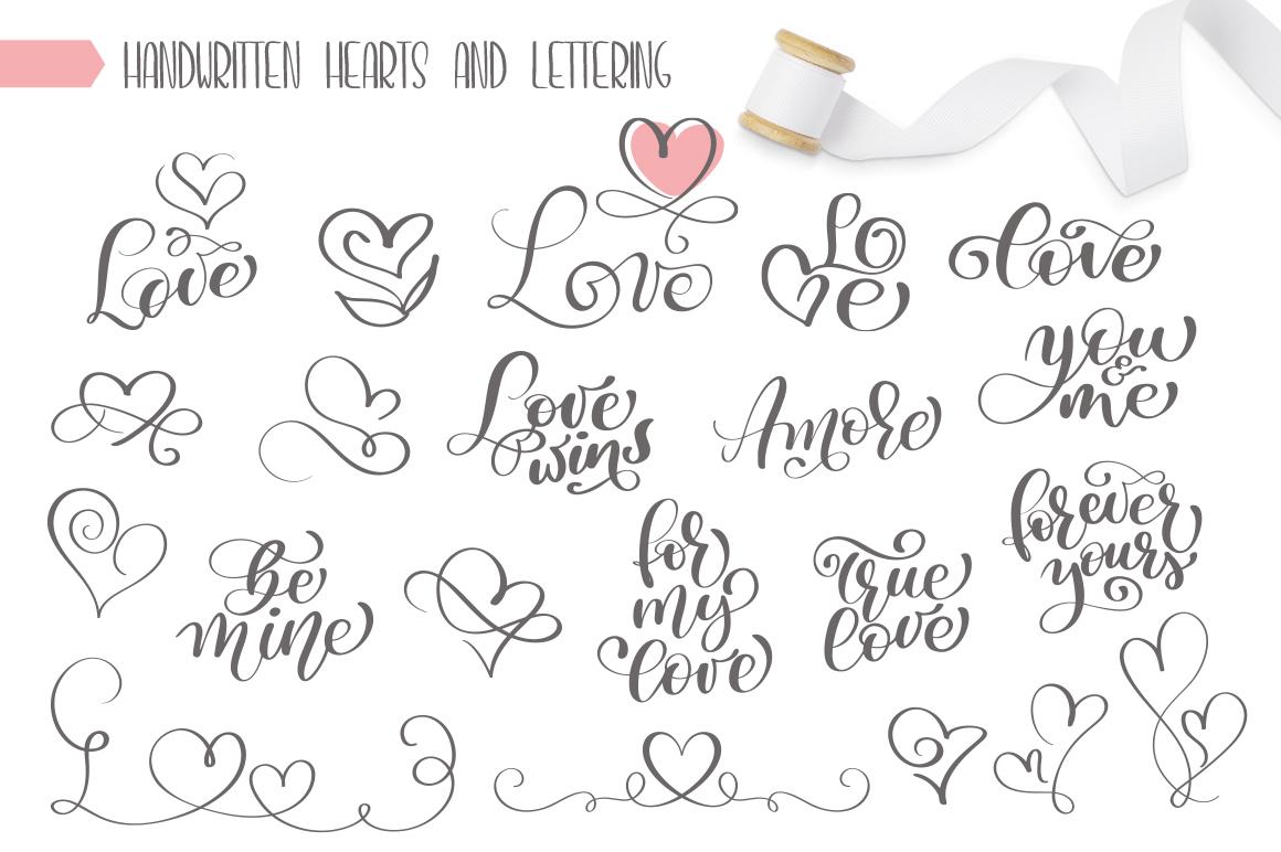 Valentine Bundle mockup example image 15