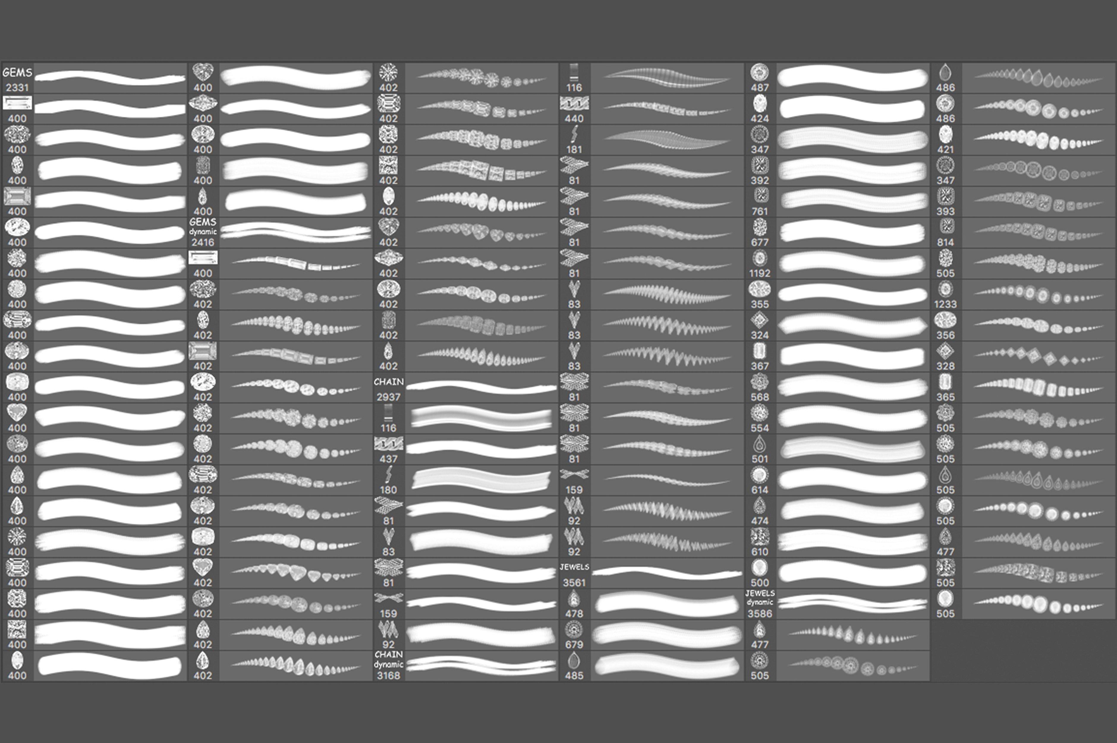 Jewelry Dynamic Brushes example image 3