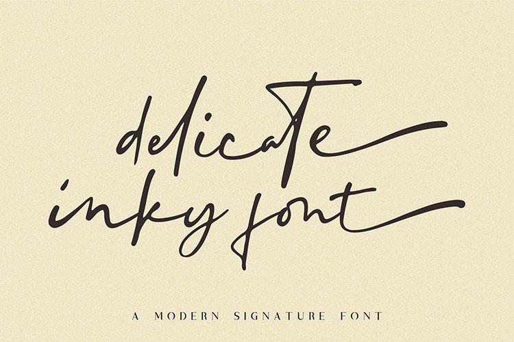 Blustori Tiller//Modern Script example image 10