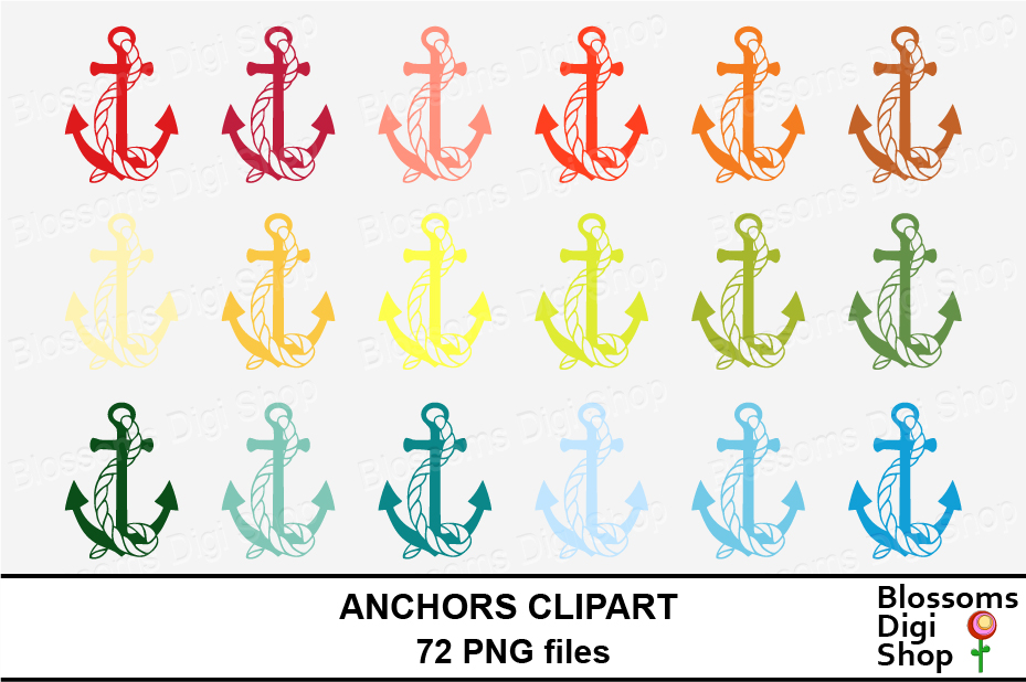 Anchor Clipart example image 4