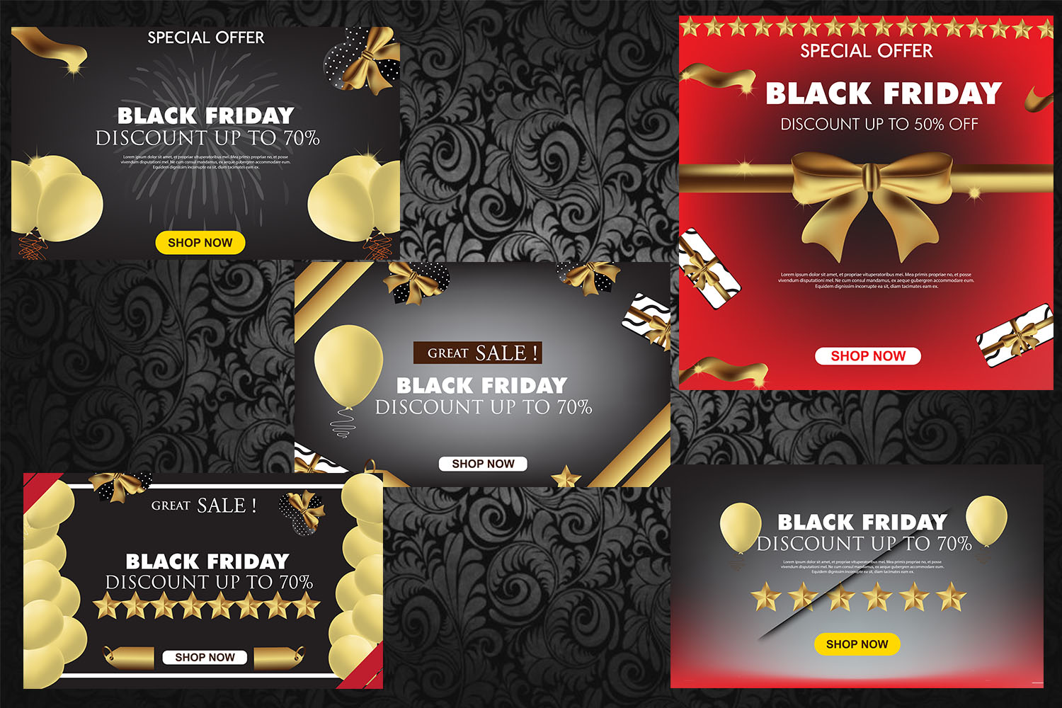 Black Friday Sale Template example image 2