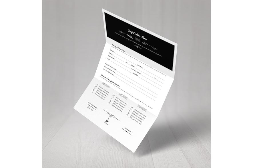 Registration Form Template v4 example image 6