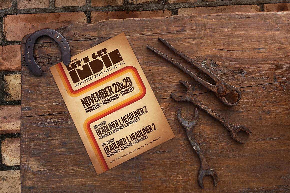 The Horseshoe Poster Mockup example image 3