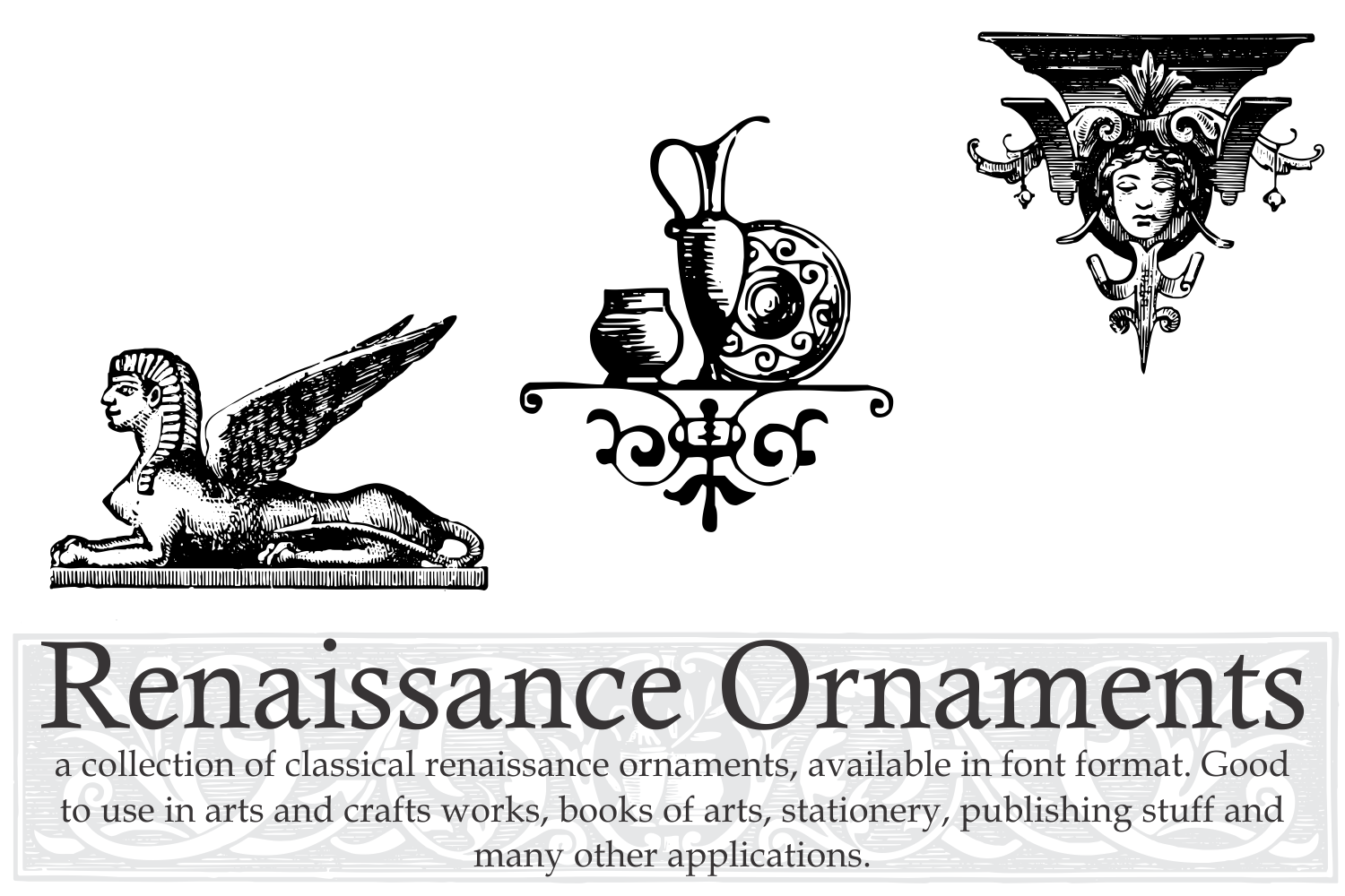 Renaissance Ornaments (PACK) example image 2