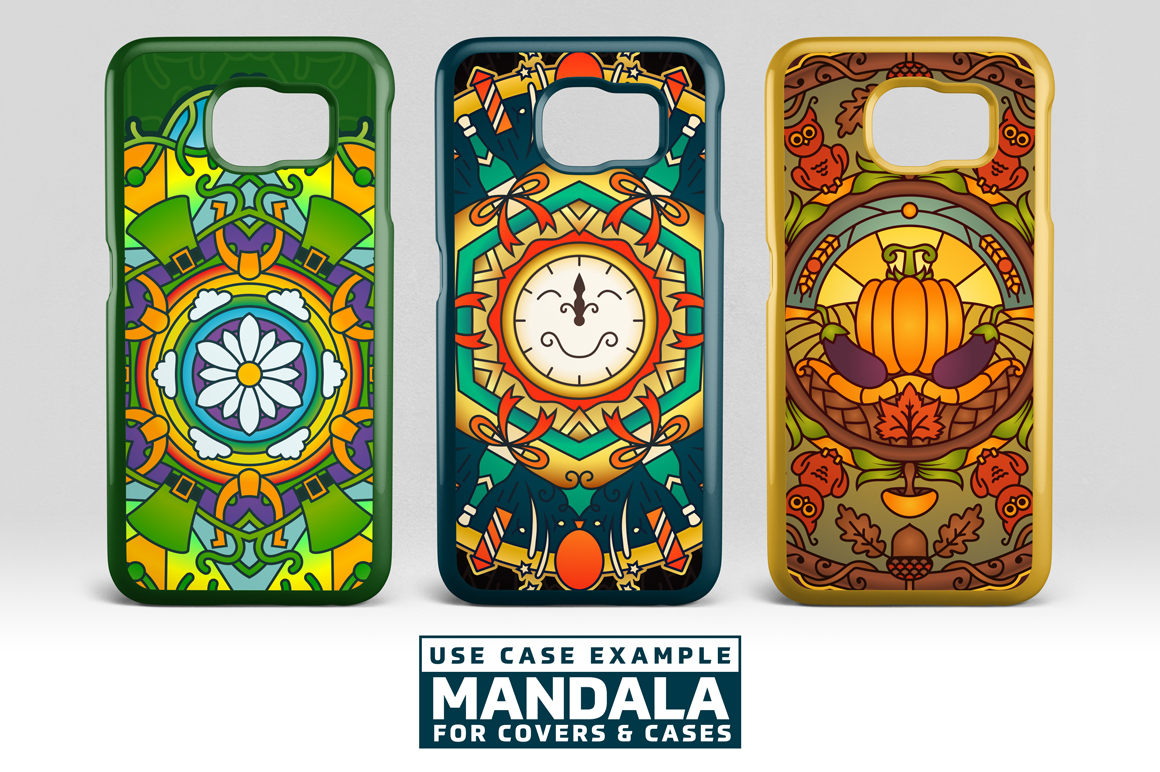 Seasonal and Holiday Mandalas example image 14