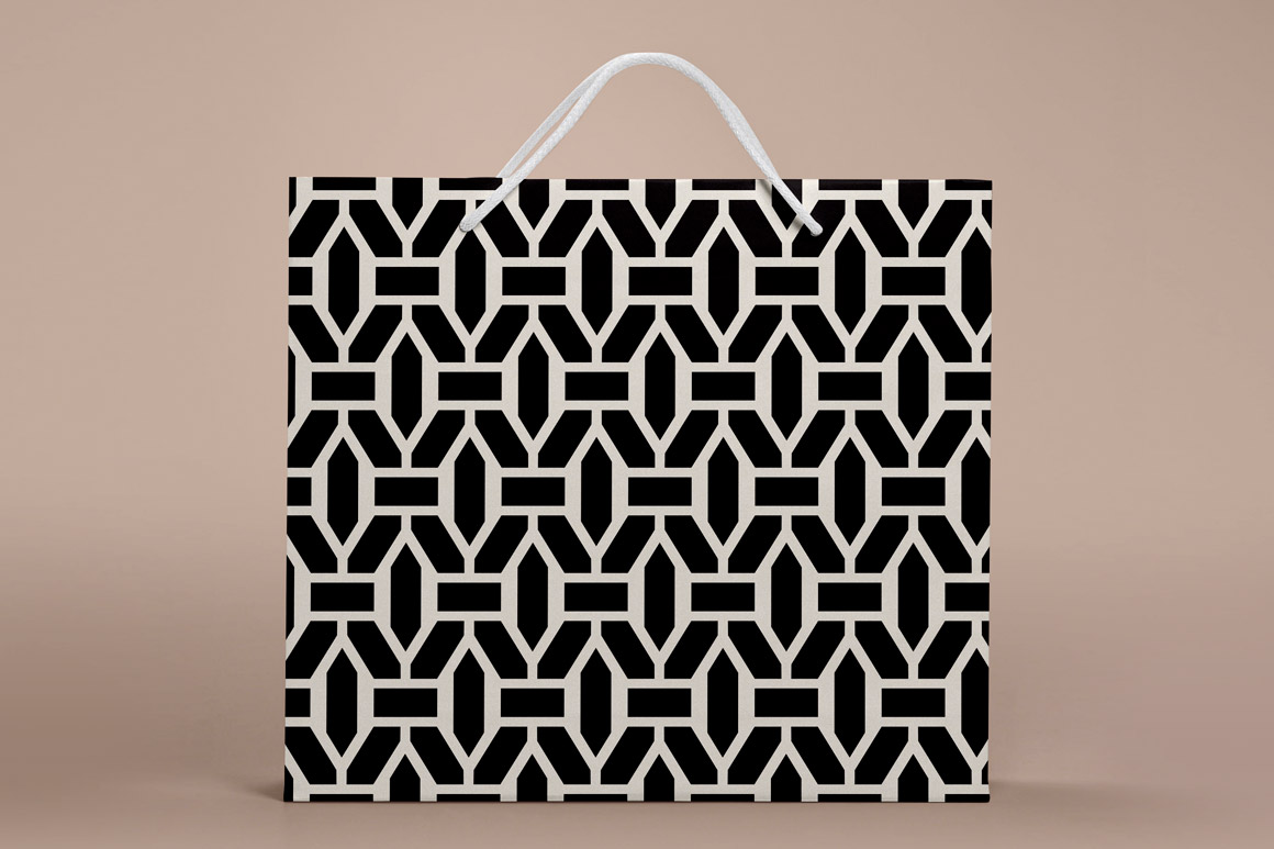 Set of seamless geometric patterns example image 2