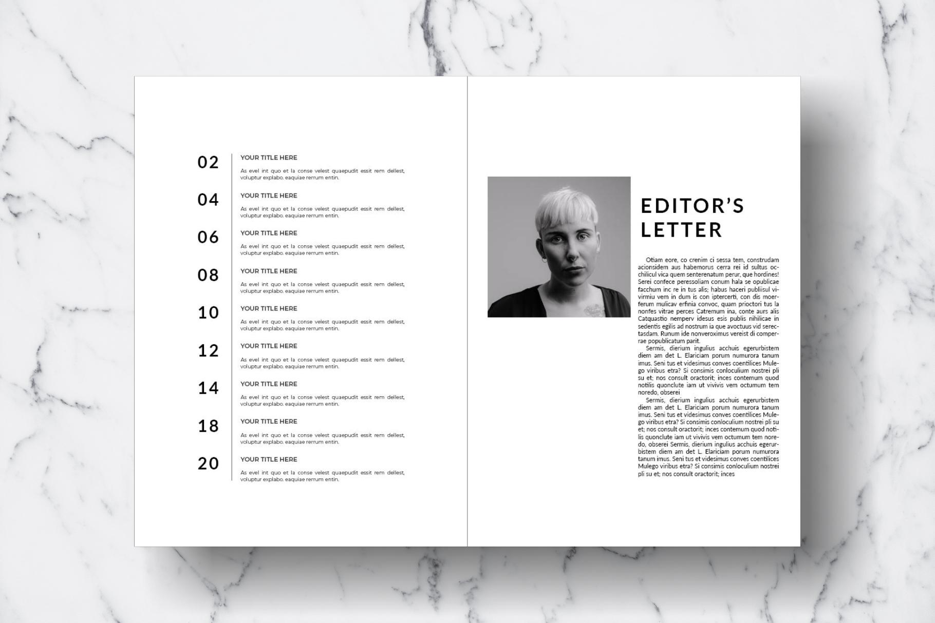 Magazine Template Vol. 15 example image 2