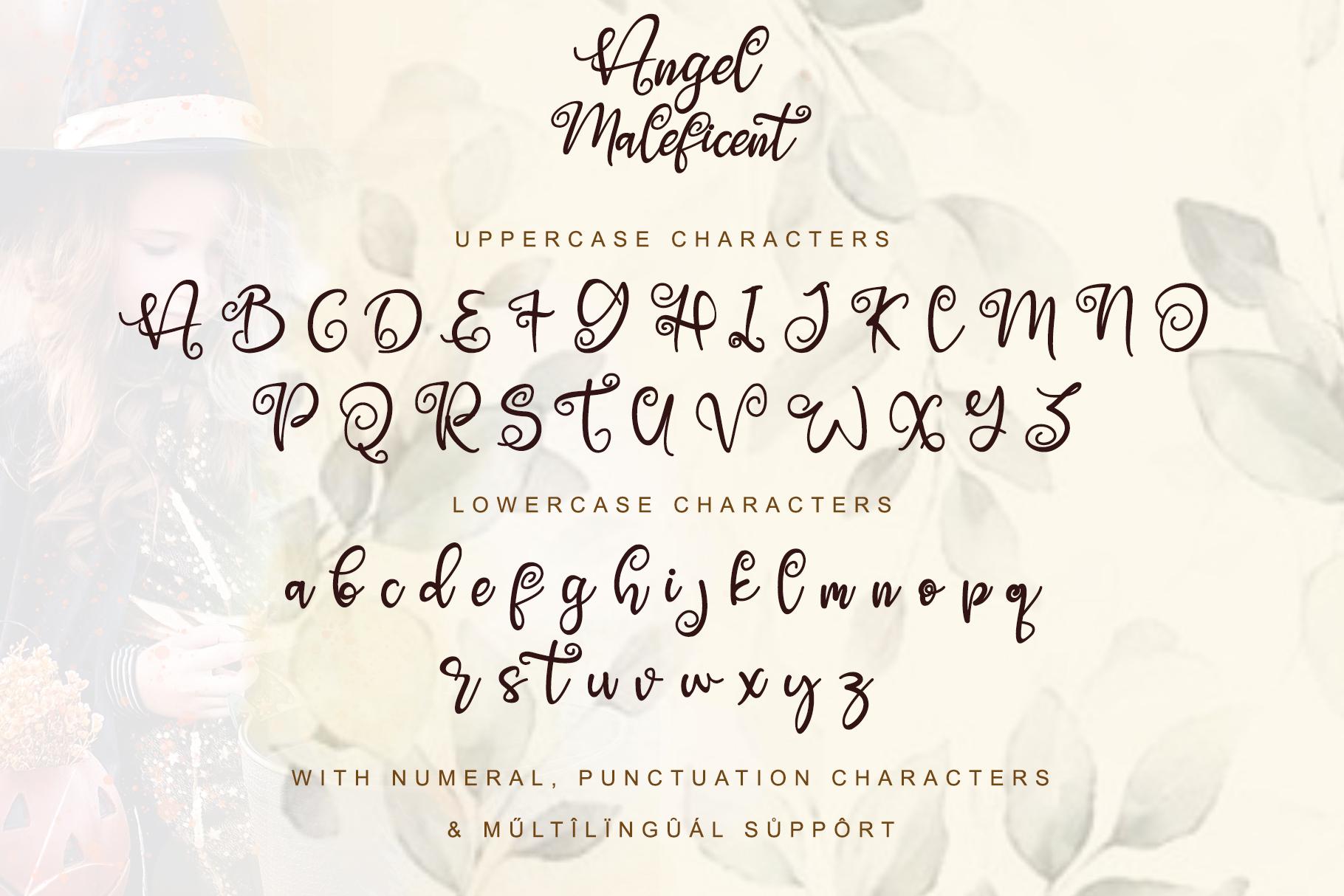 Angel Maleficent example image 6