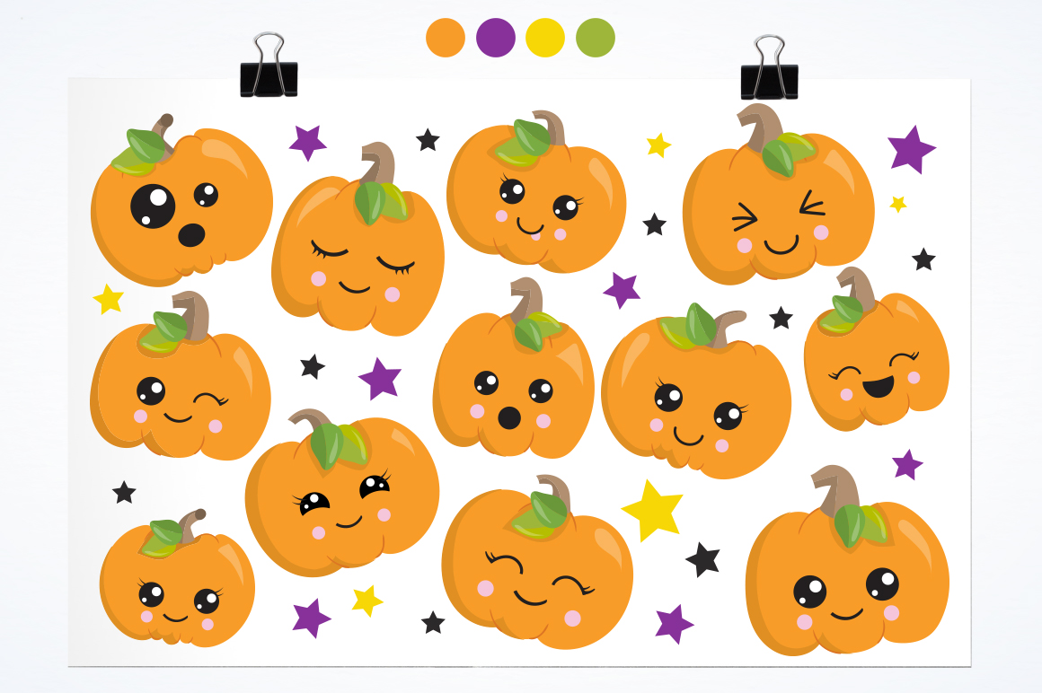 Little Pumpkin graphic and illustrations example image 5