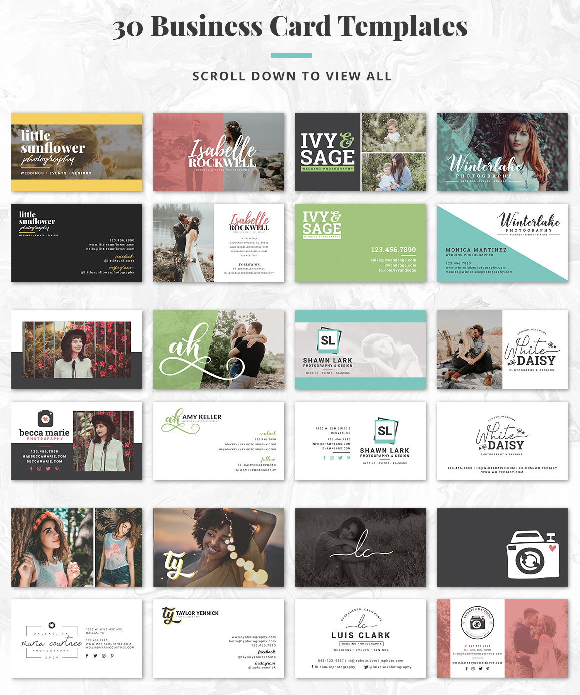 The Essential Photography Branding & Marketing Kit example image 5