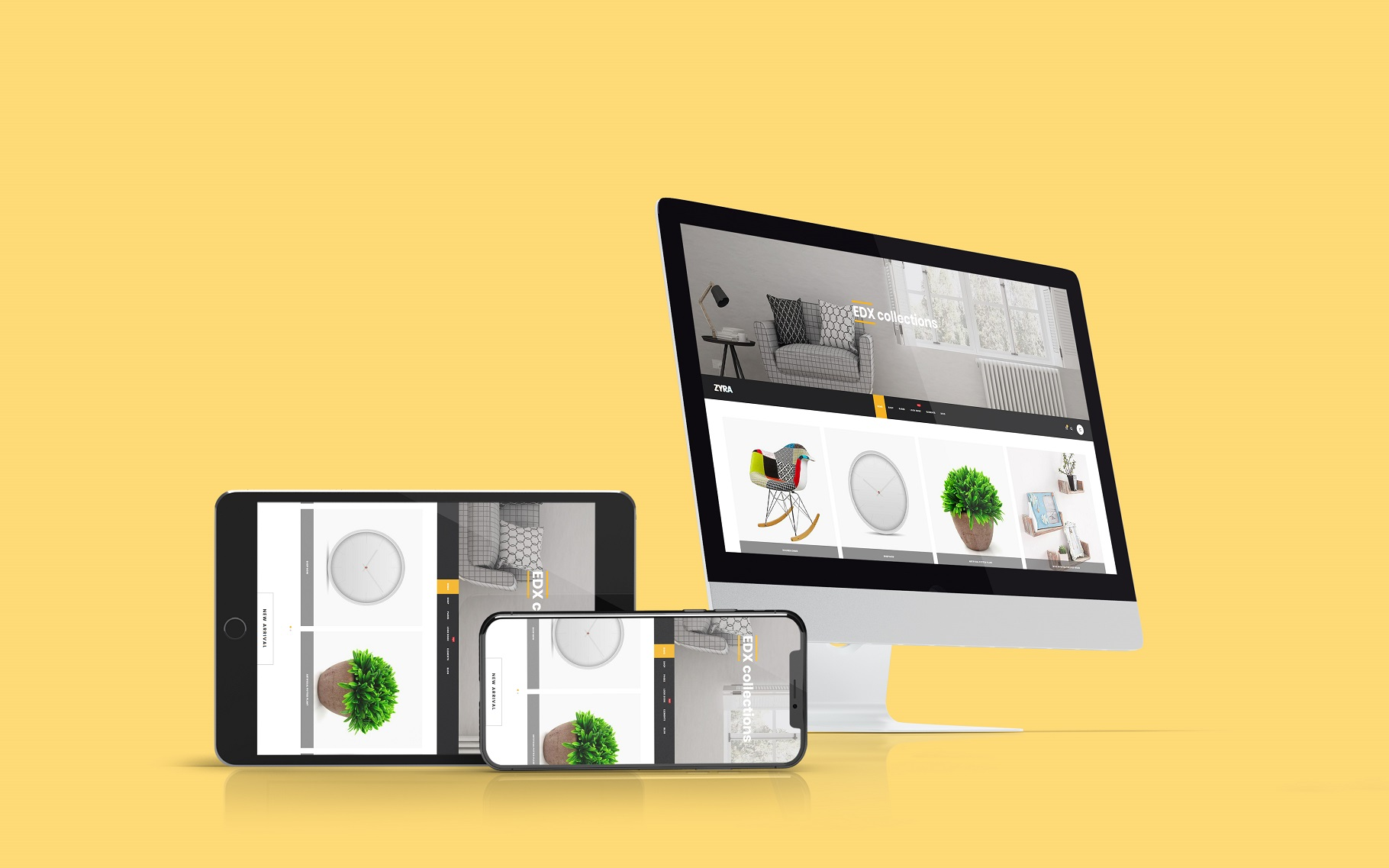 Multi Devices Website Mockup example image 9
