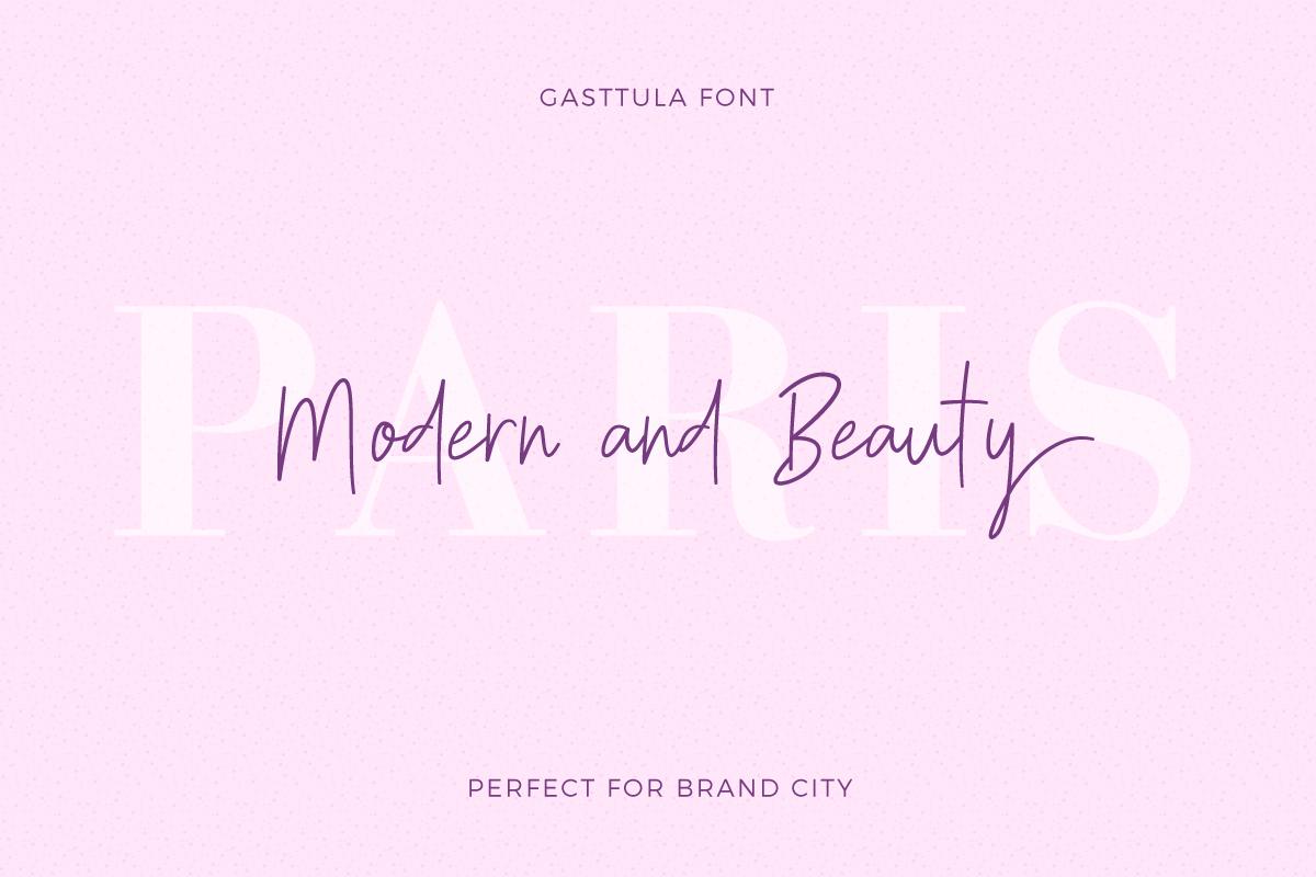 Gasttula - 3 Font example image 2