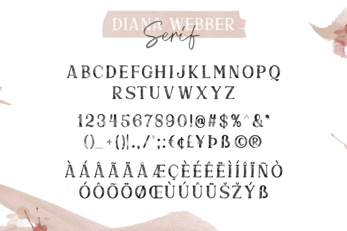 Diana Webber - SVG Font Duo example image 12