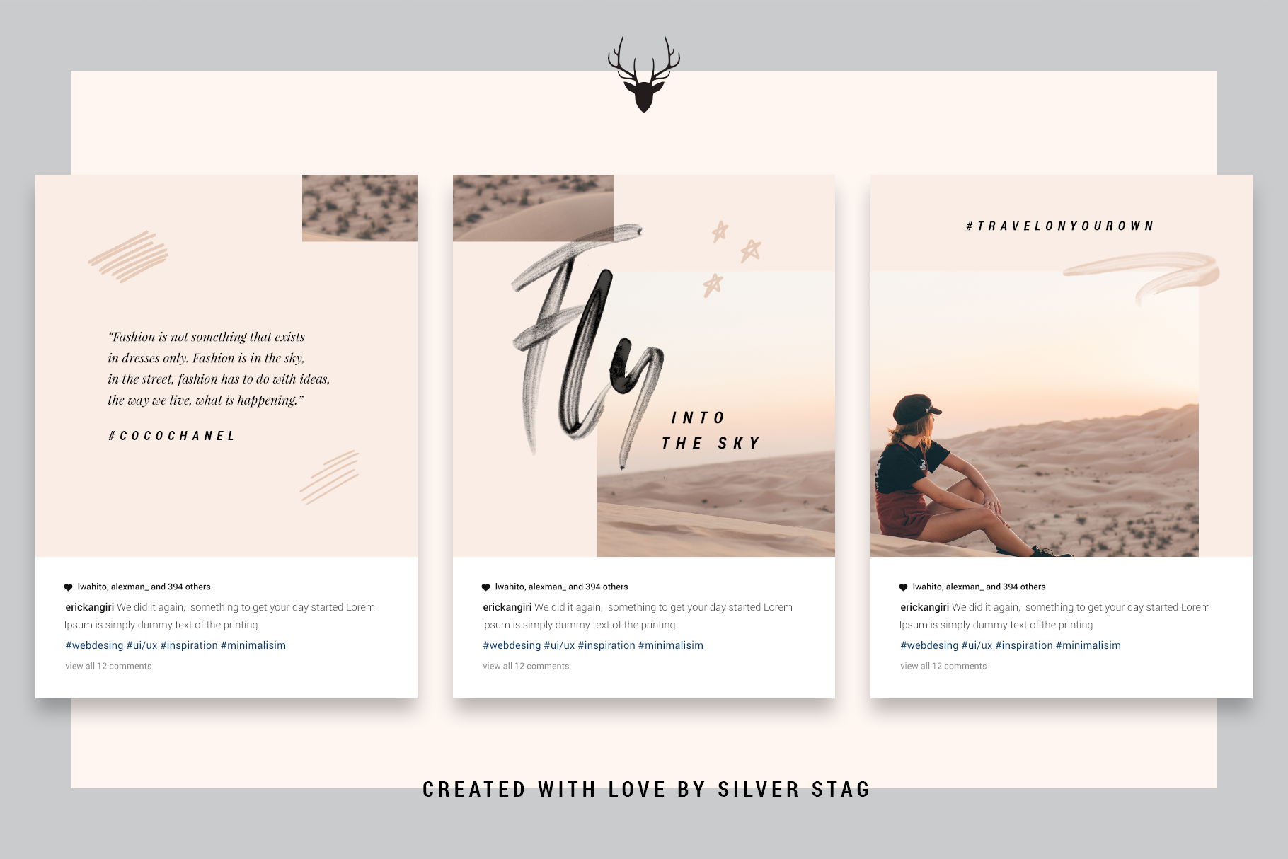 InstaGrid 5.0 - Creative & Modern Instagram Puzzle Template example image 7