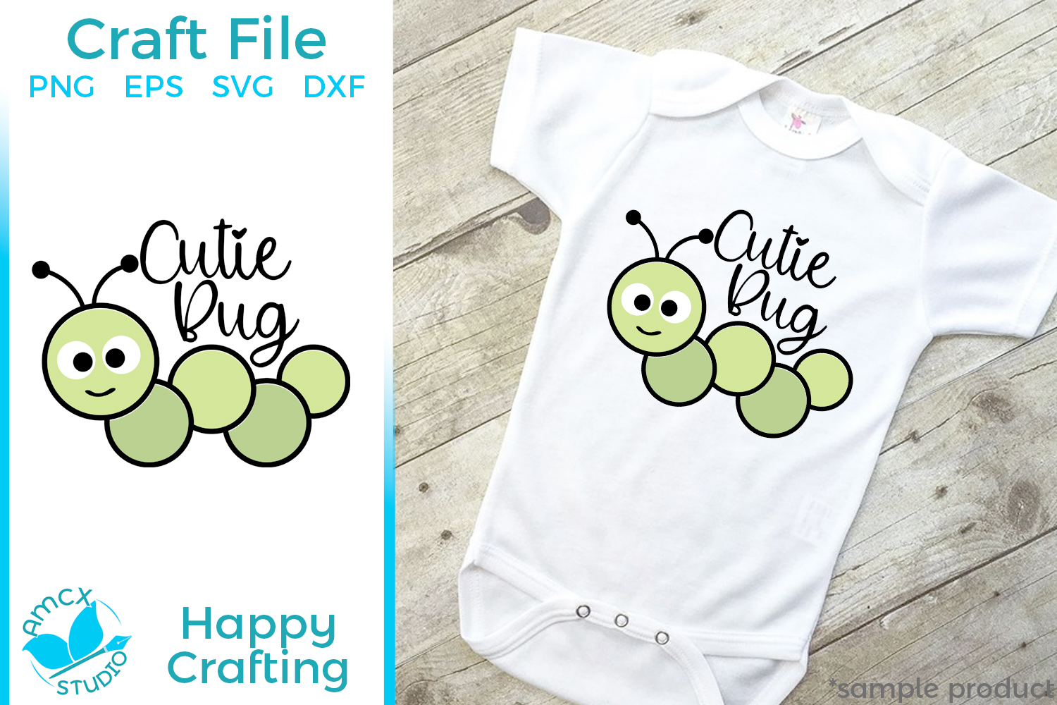 Cutie Bug - A Cute Insect Craft File example image 1