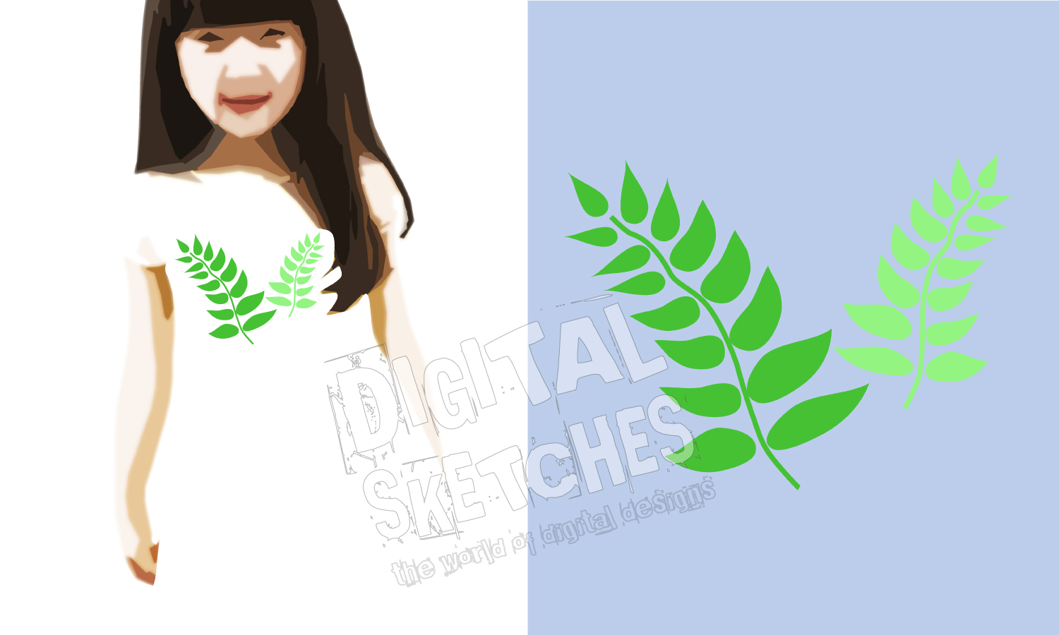 Farn Vector Graphic, Farn Plant Cut File, Forest Plant SVG example image 2