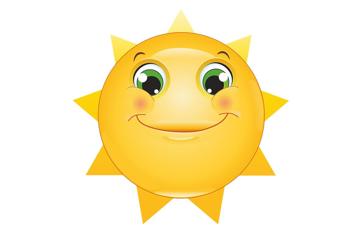 Emoticons Sun example image 6