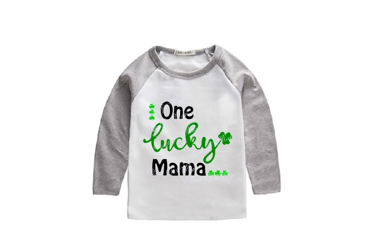 One Lucky Mama SVG, St Patricks Day Svg, Irish Svg example image 2