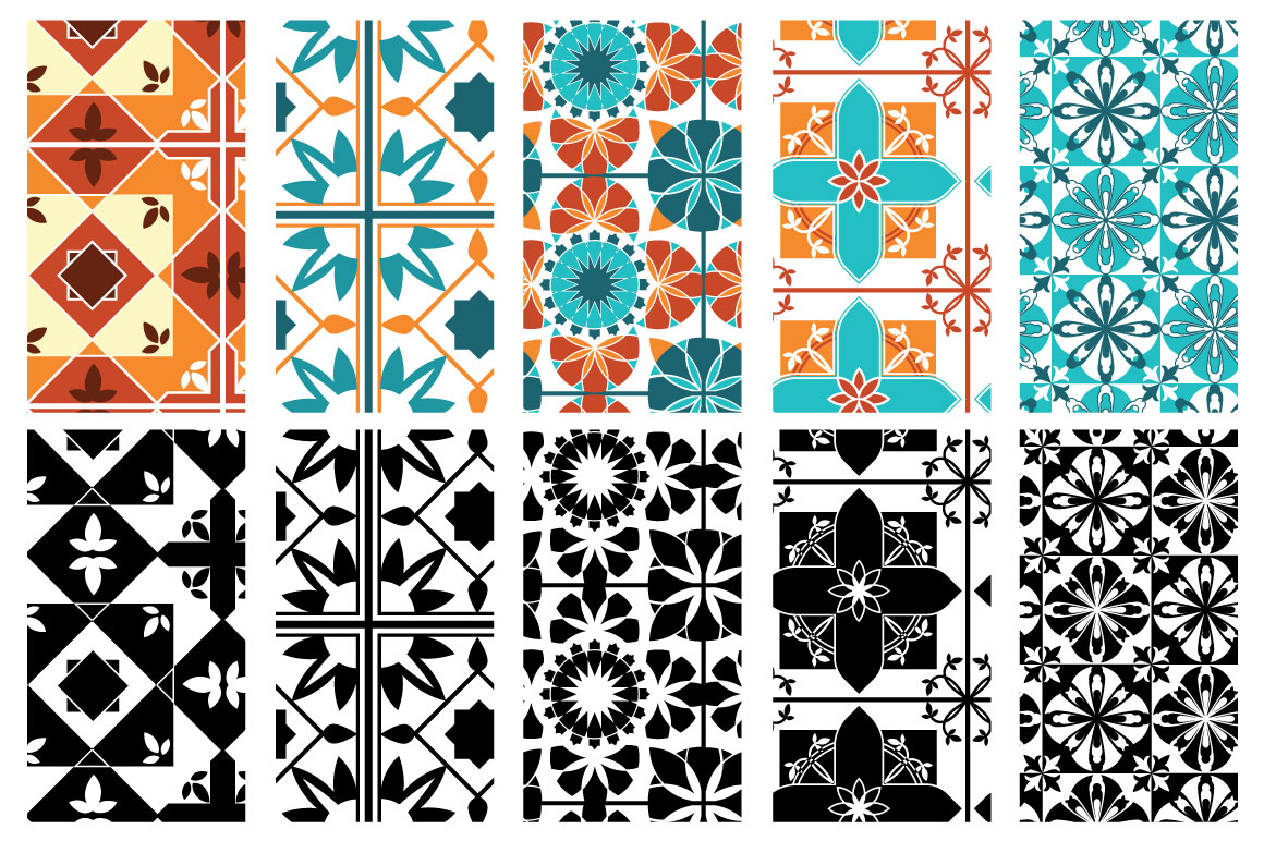 Moroccan style patterns example image 5