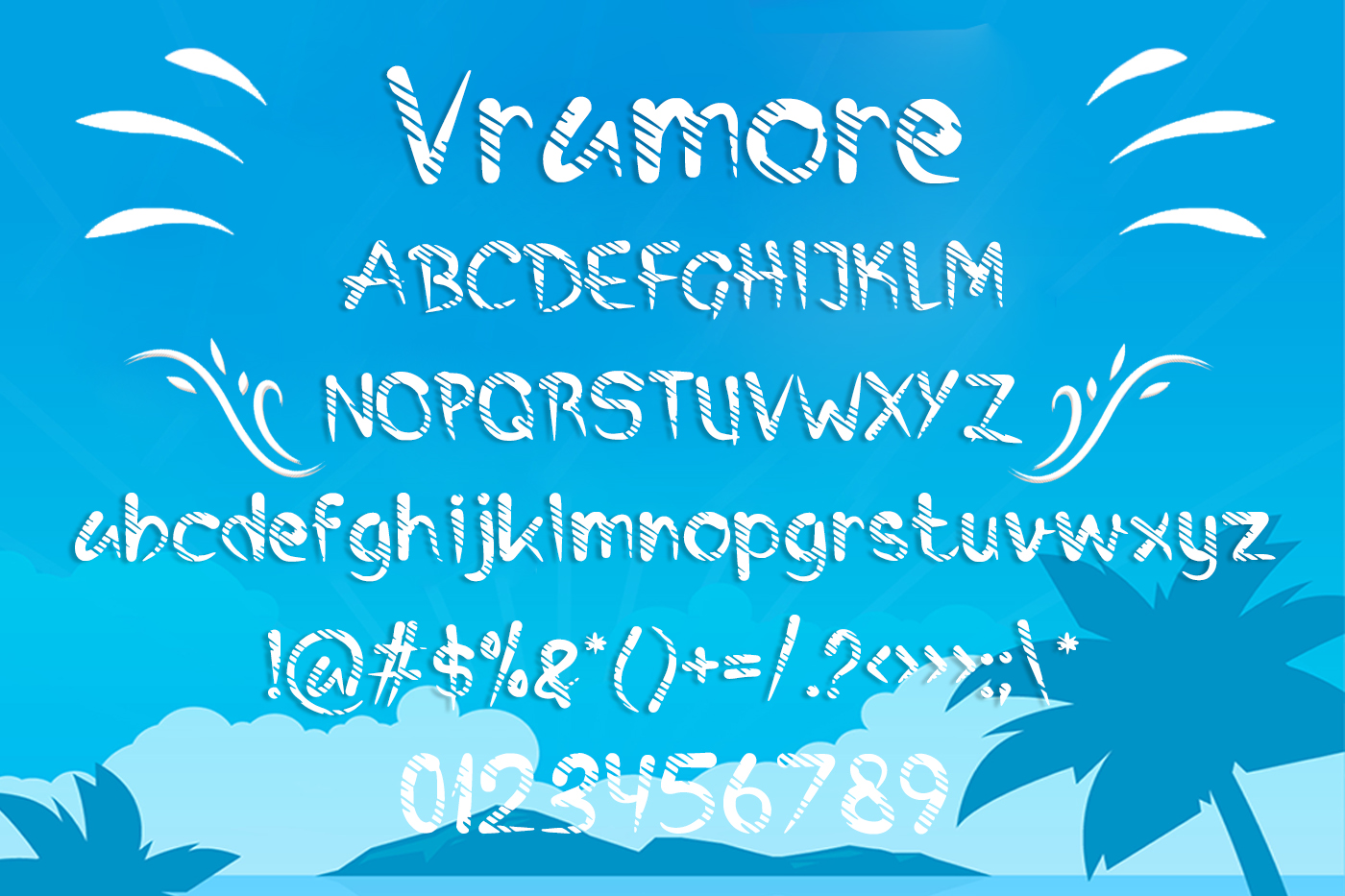 Vramore Summer Font example image 2