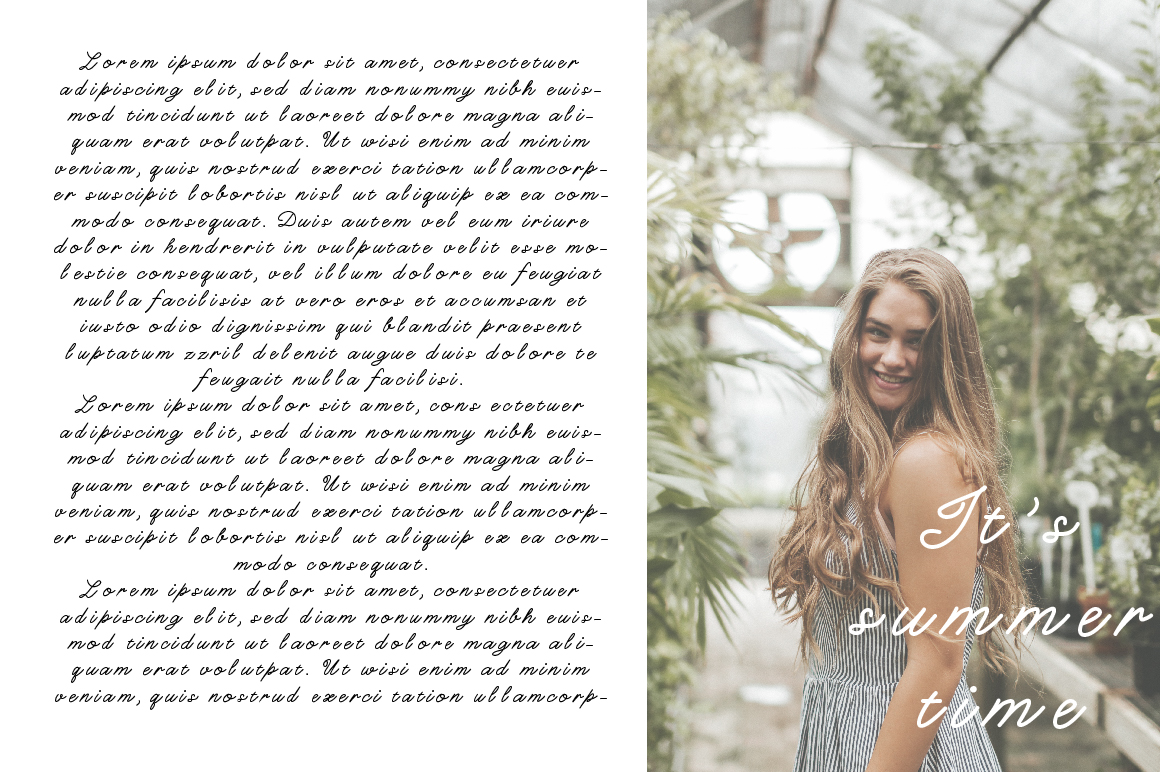 Charlotte Script Typeface example image 3