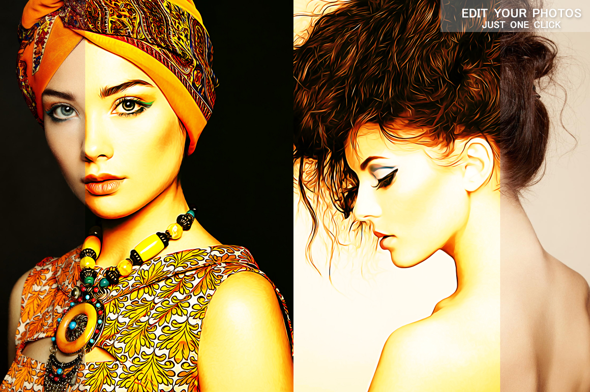 Realistic Oil Painting Effects v.5 example image 6